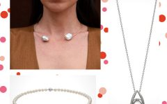 Pearl necklaces for grads