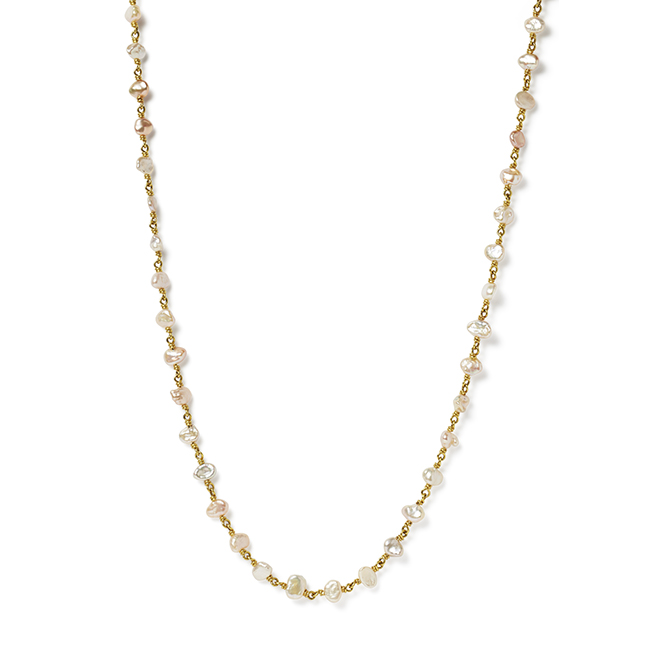 Reinstein Ross pearl necklace