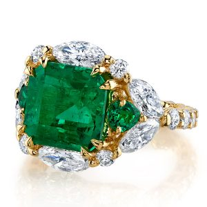 Erica Courtney Zelena emerald ring