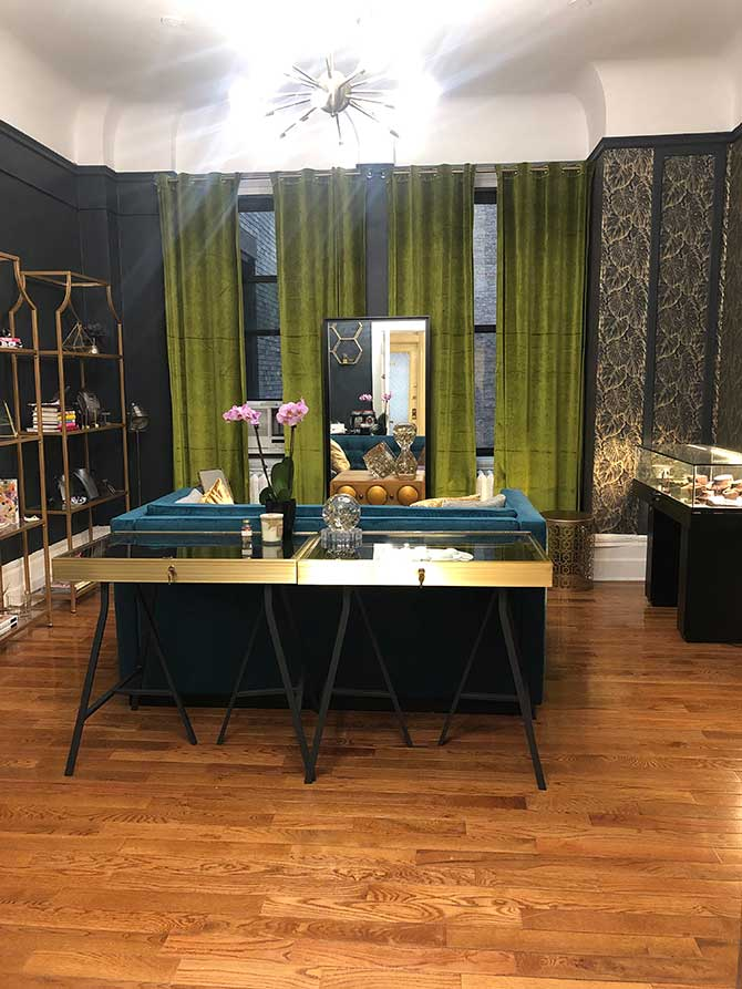 The Creative Atelier physical showroom
