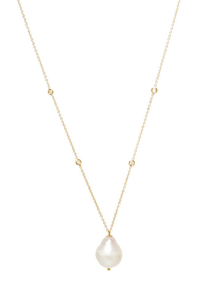 Zoe Chicco pearl pendant