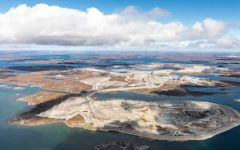 Diavik mine in Canada