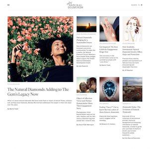 naturaldiamonds.com homepage