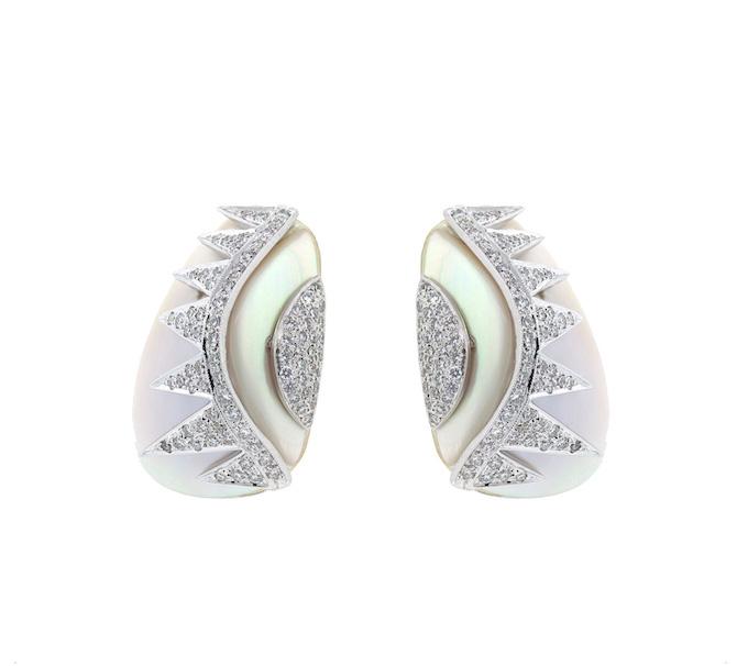 Alessa mother of pearl earrings