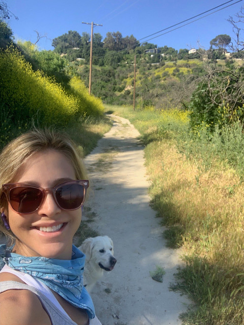 Andrea Fohrman daily hike