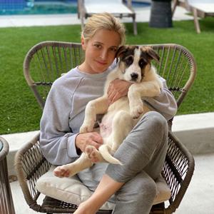 Andrea Fohrman puppy