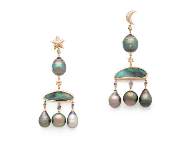 Bibi van der Velden earrings