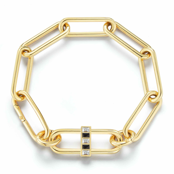 Deborah Pagani convertible Pill necklace as bracelet