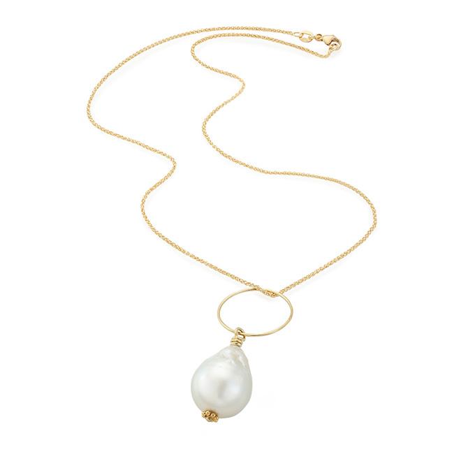 Christina Malle South Sea oearl necklace