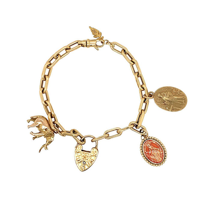 Colette charm bracelet