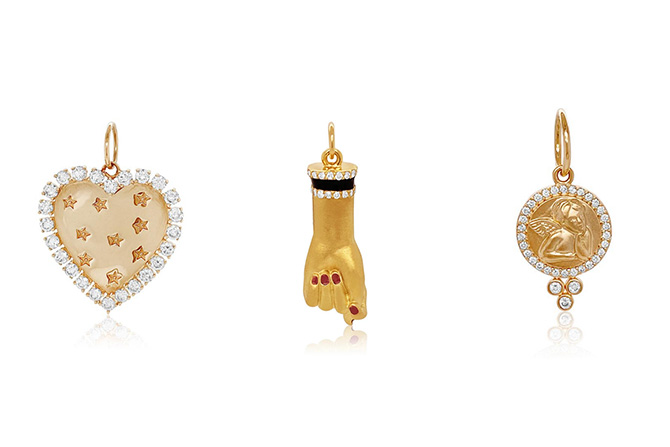 Colette gold charms
