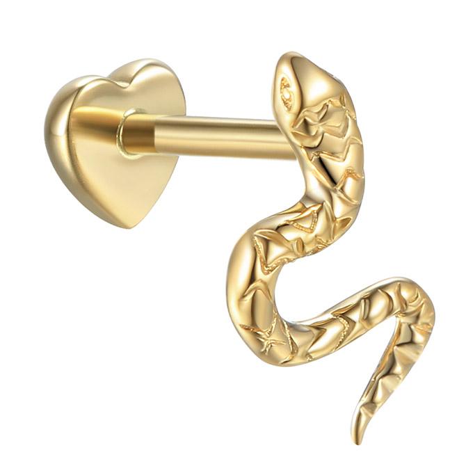 Pamela Love serpent stud