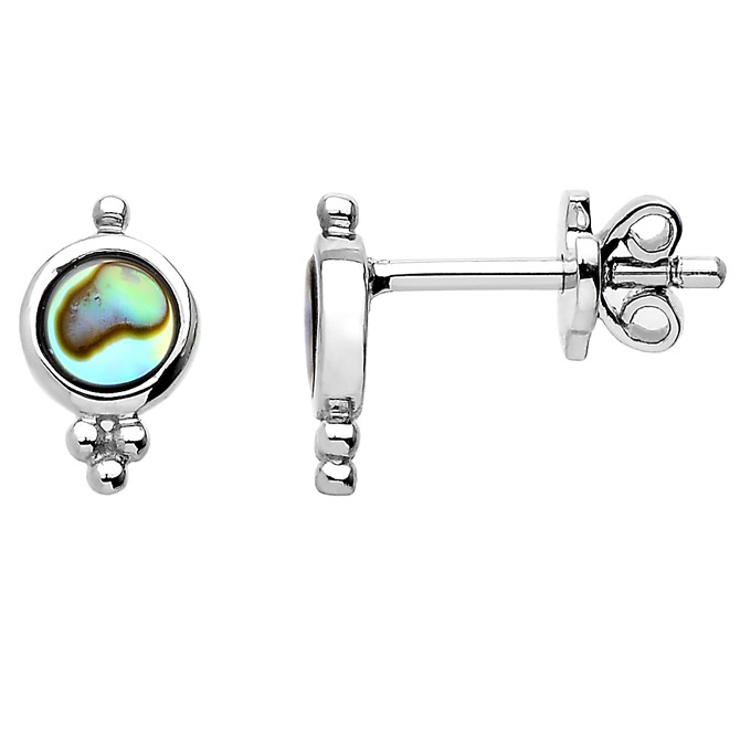 Washed Ashore Isle stud earrings