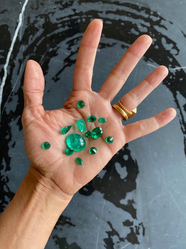 Muzo emeralds