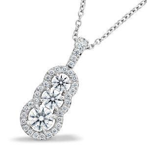 Hearts On Fire aurora diamond pendant