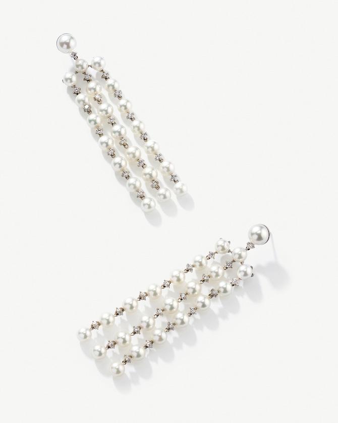 Irene Neuwirth pearl fringe earrings