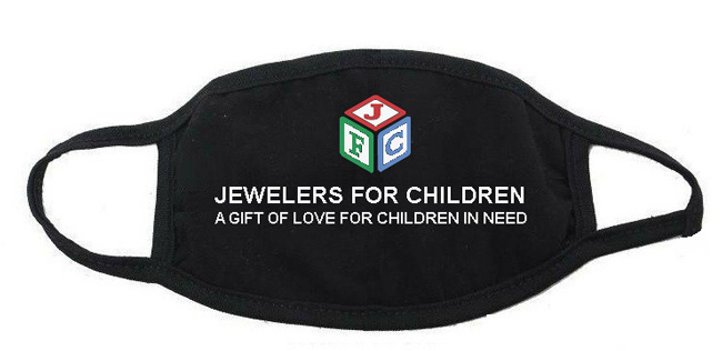 Jewelers for Children mask