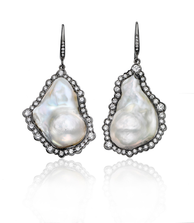 Kimberly McDonald pearl earrings