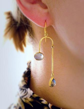 Margery Hirschey labradorite earrings