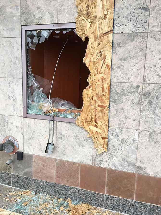 Moeller store damage