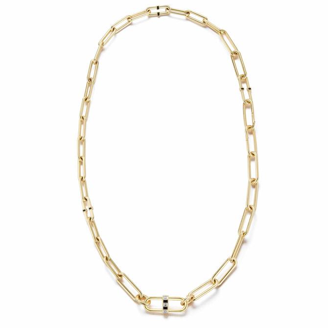 Deborah Pagani convertible Pill link necklace