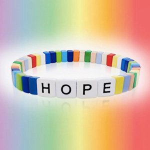 Rainbow for Hope bracelet