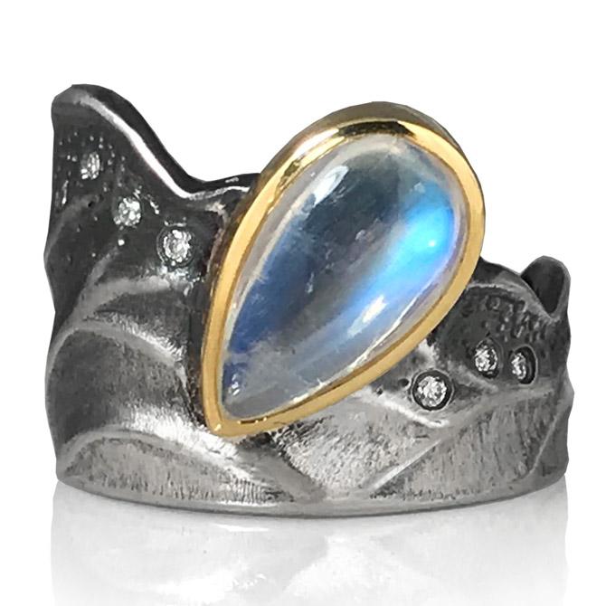 K Mita Moonlight ring