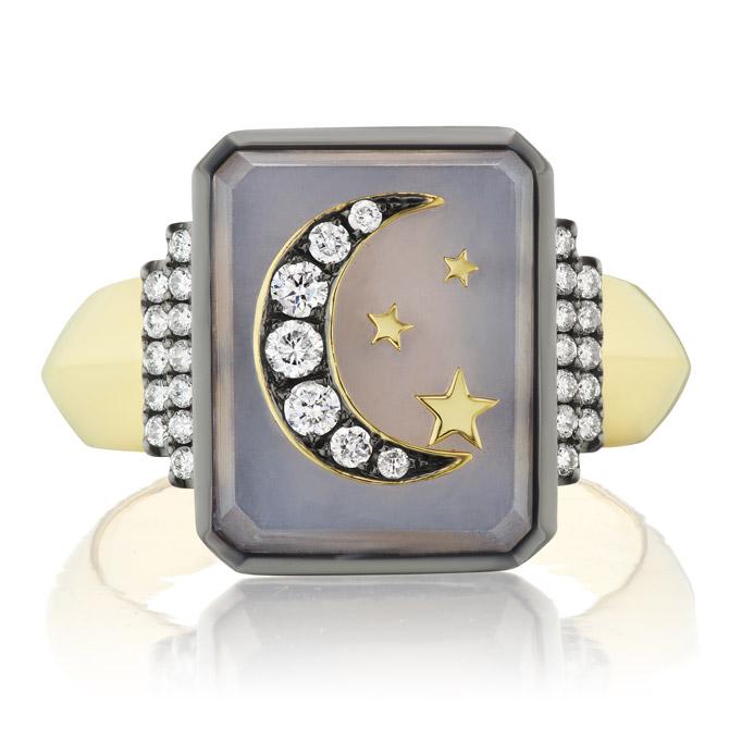 Sotellina customizable signet ring