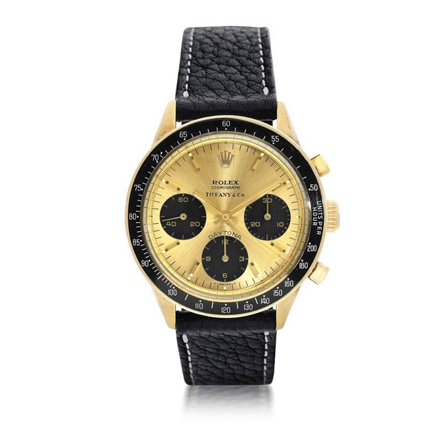 Rolex Tiffany & Co. wristwatch circa 1967