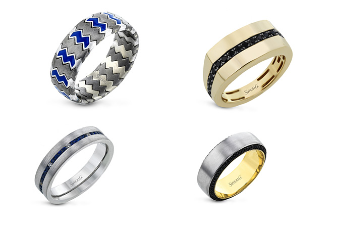 Simon G mens rings