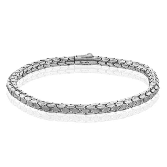 Simon G snake motif bracelet