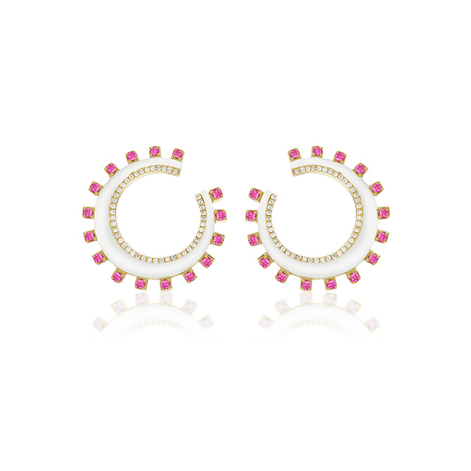 Sorellina Crescent earrings
