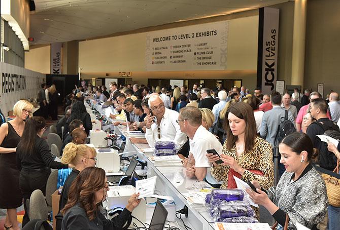 registration desk opening day