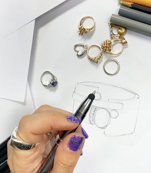 Amanda Jaron redesigning