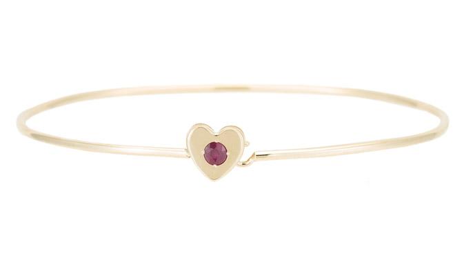 Ariel Gordon heart bracelet