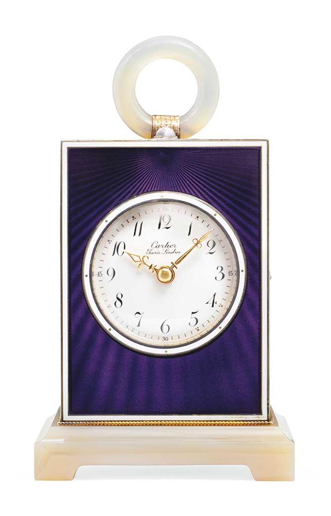 Cartier quarter repeater clock
