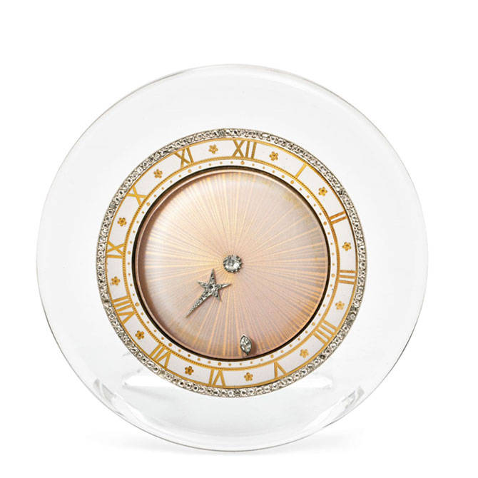Cartier early 20th century comet clock