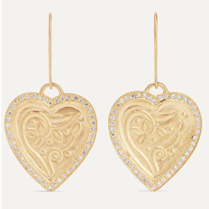 Ileana Makri Heart Beat earrings
