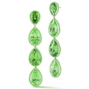 Deborah Pagani peridot earrings
