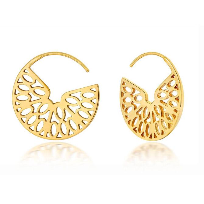 Little by Little Seville hoop earrings