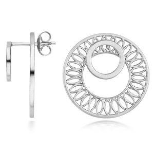 Little by Little Seville slice ear jacket earrings
