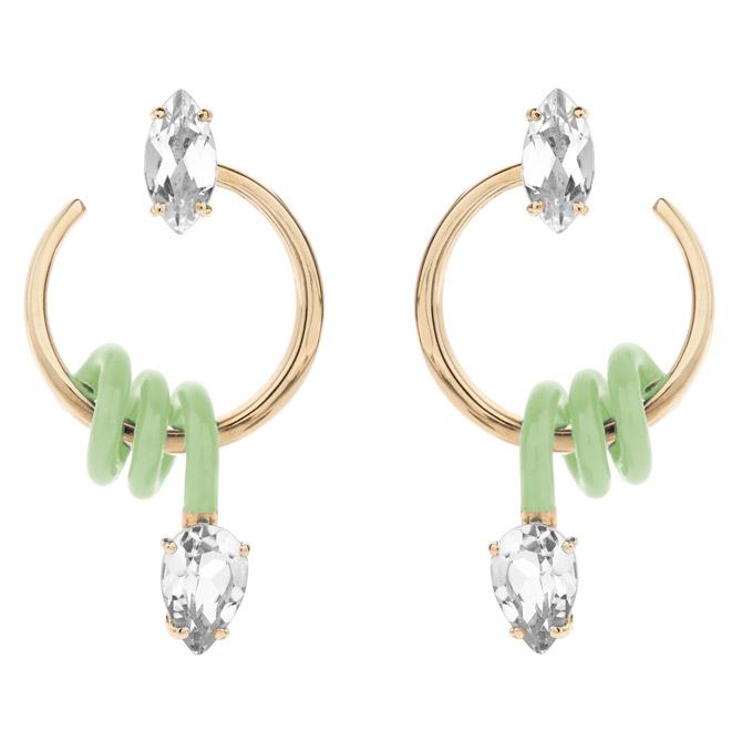 Bea Bongiasca small single Curl earrings