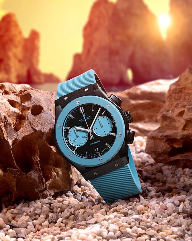 Hublot Classic Fusion Chronograph Special Edition Capri wristwatch