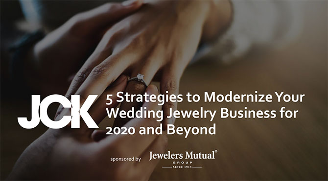 JCK and Jewelers Mutual July 15 bridal webinar