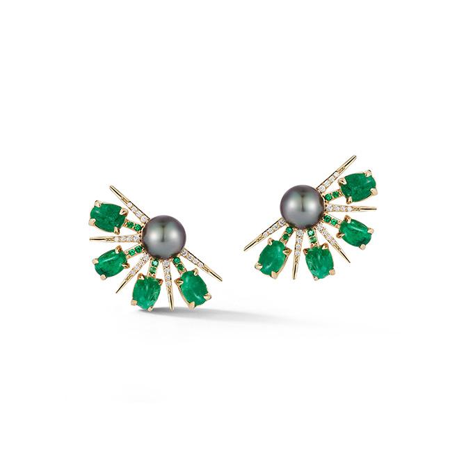 Katherine Jetter Muzo fan earrings