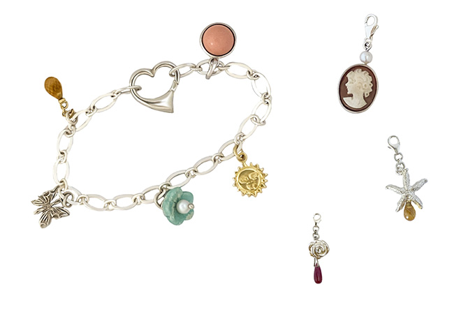 Maisonette kid bracelet and charms