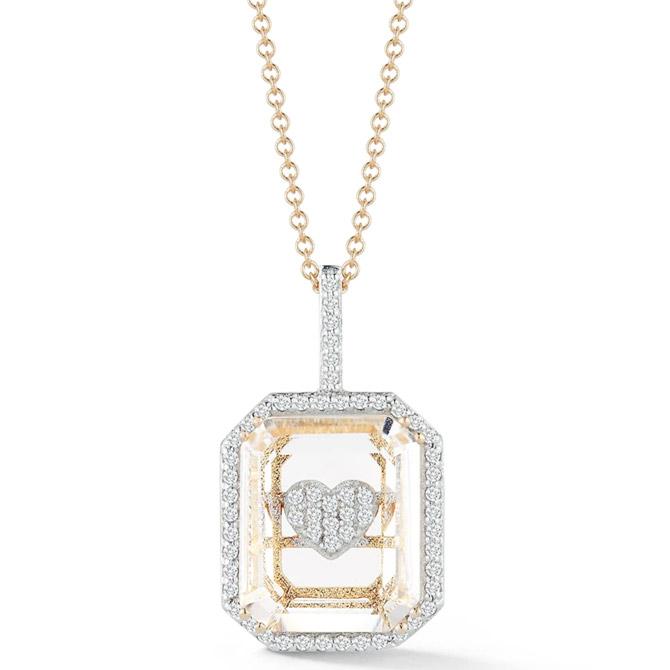 Mateo Secret Heart necklace