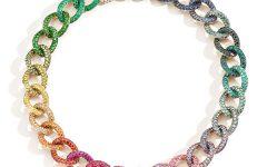 Pomellato Gioia Gourmette Cameleon necklace