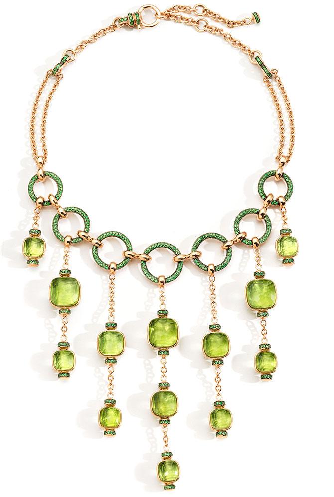 Pomellato Gioia Nudo Peridot necklace