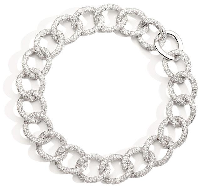 Pomellato Gioia white diamond necklace